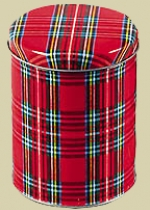 Plaid Cannister